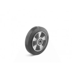 Kolo gumové s hliníkovým diskem, F3, průměr 100 mm